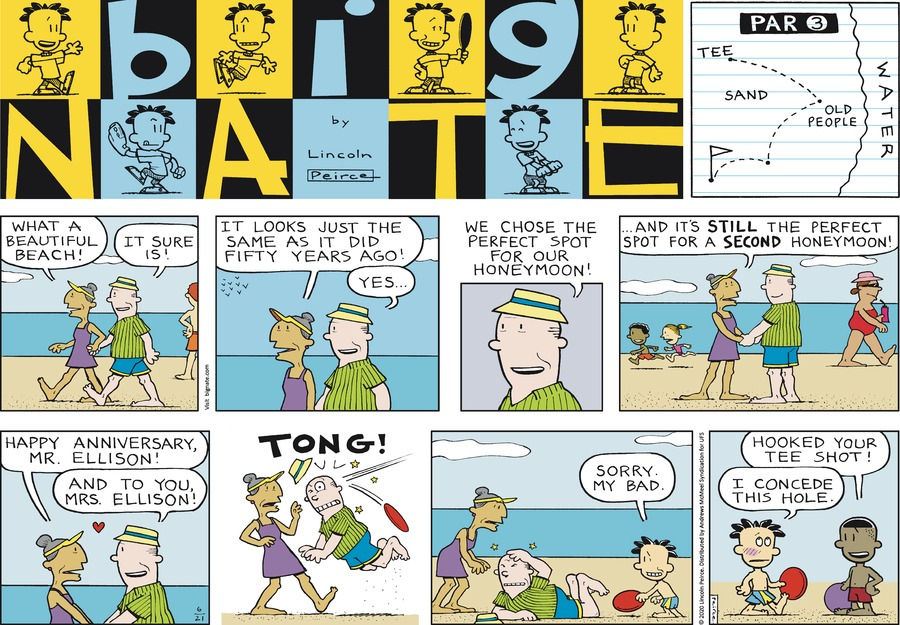 Big Nate by Lincoln Peirce on Sun, 21 Jun 2020