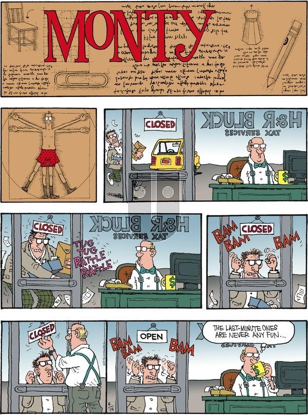 Monty - Sunday April 14, 2019 Comic Strip
