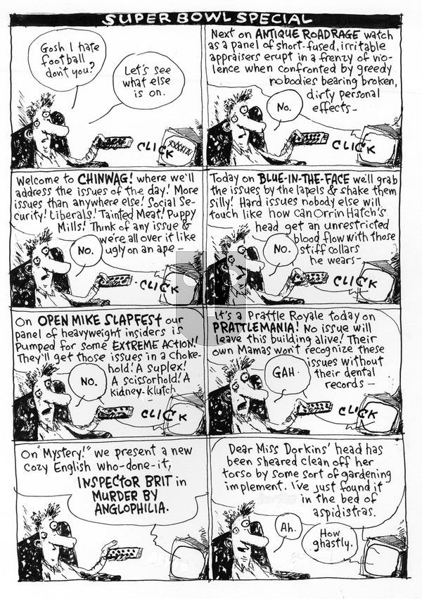 Richard's Poor Almanac on Sunday February 7, 2016 Comic Strip