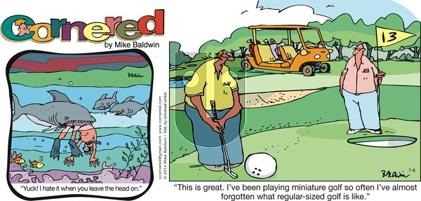 Cornered on Sunday July 6, 2014 Comic Strip