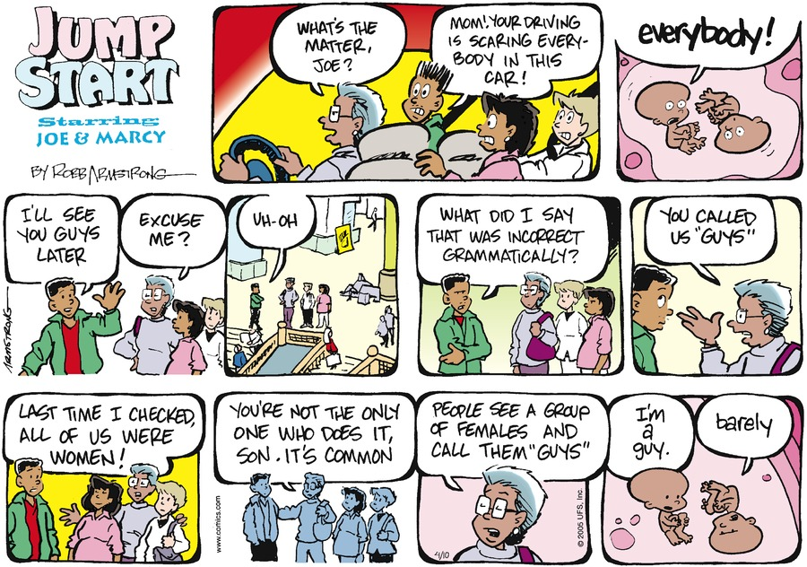 JumpStart Comic Strip for April 10, 2005