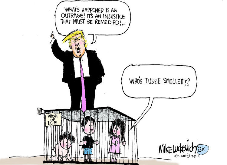 Mike Luckovich Comic Strip for March 31, 2019