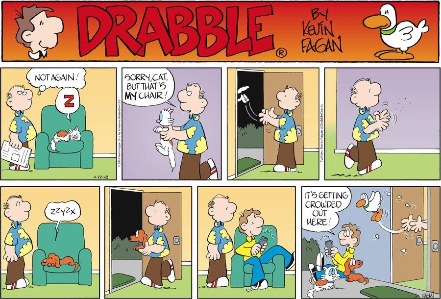 Drabble for Apr 22, 2018 Comic Strip