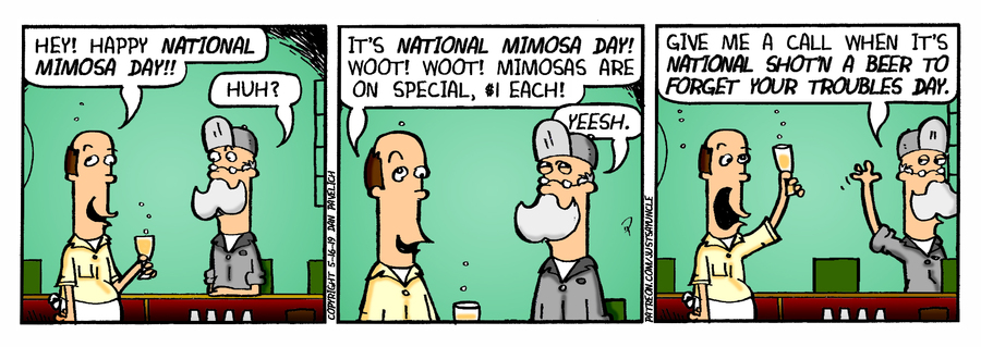 Just Say Uncle Comic Strip for May 16, 2019
