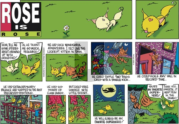 Rose is Rose - Sunday July 19, 2020 Comic Strip