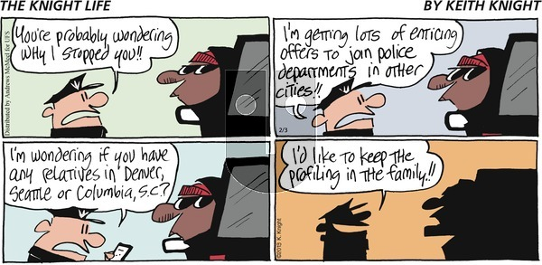 The Knight Life on Sunday February 3, 2019 Comic Strip
