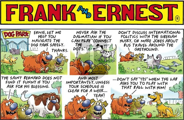 Frank and Ernest on Sunday May 22, 2016 Comic Strip