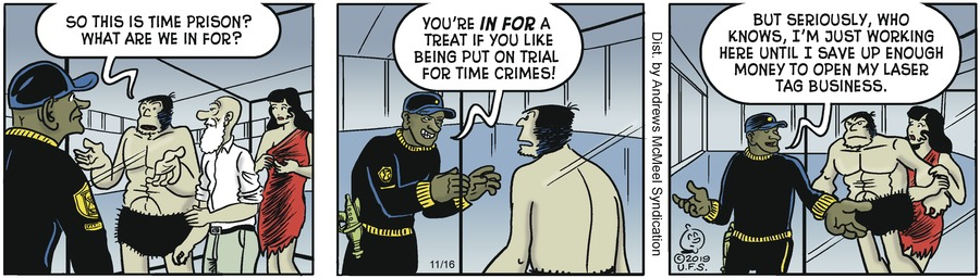 Alley Oop Comic Strip for November 16, 2019