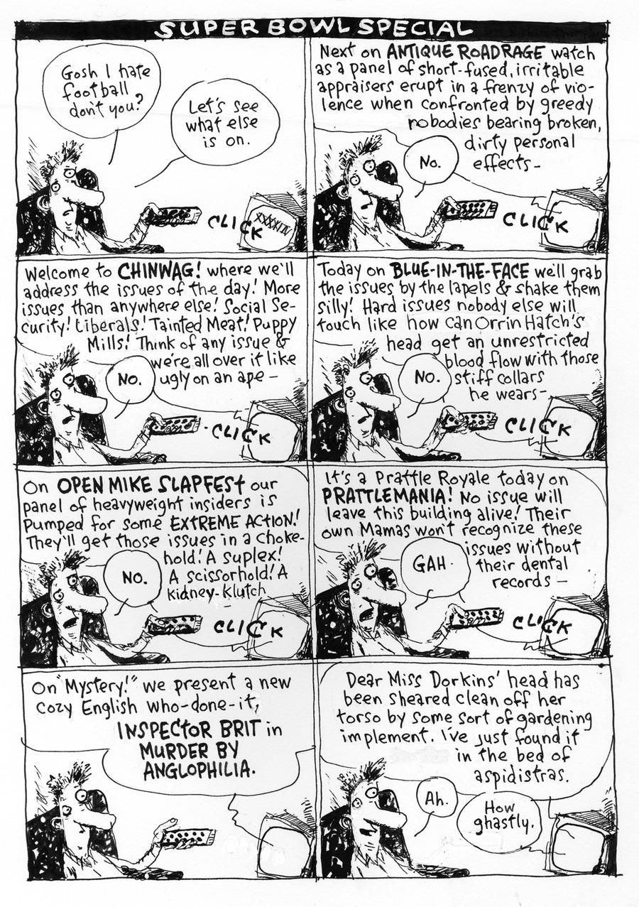 Richard's Poor Almanac Comic Strip for February 07, 2016