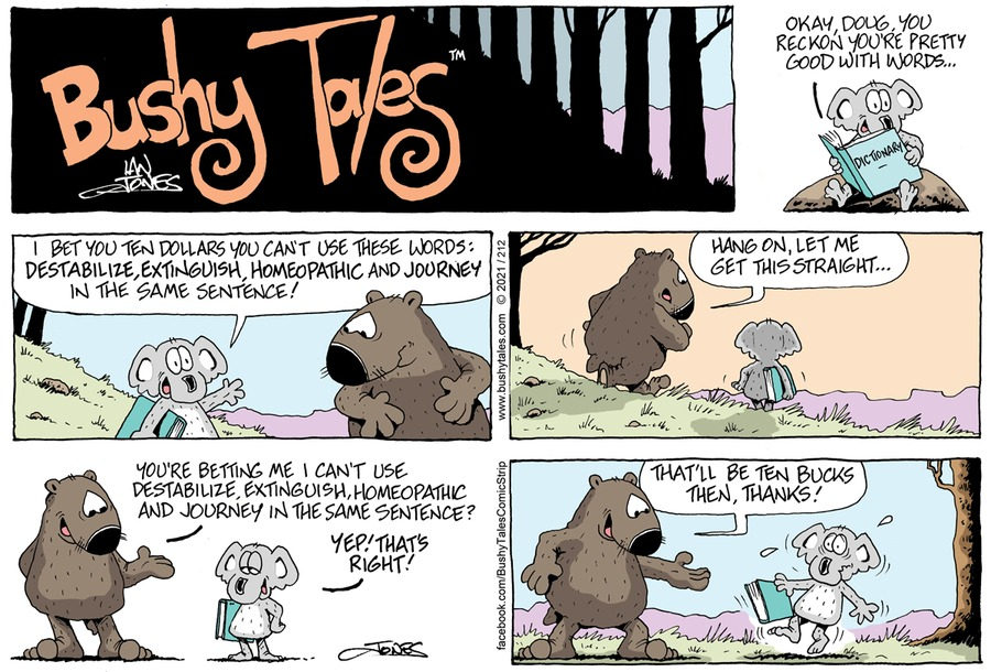 Bushy Tales by Ian Jones on Sun, 02 May 2021