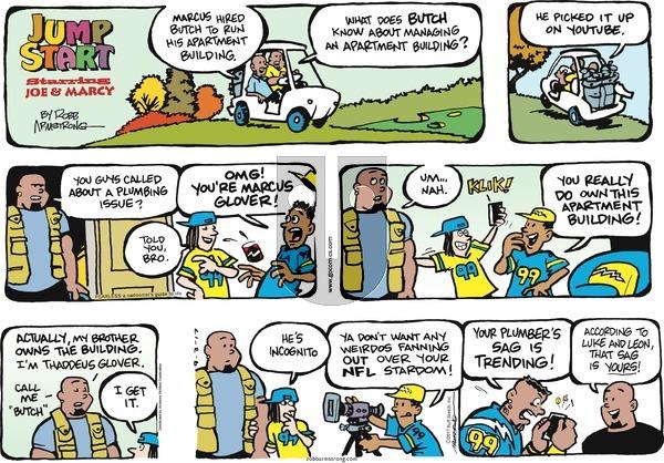 JumpStart on Sunday September 3, 2017 Comic Strip