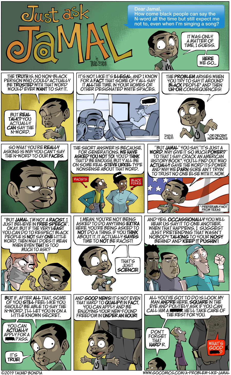A Problem Like Jamal Comic Strip for April 17, 2019