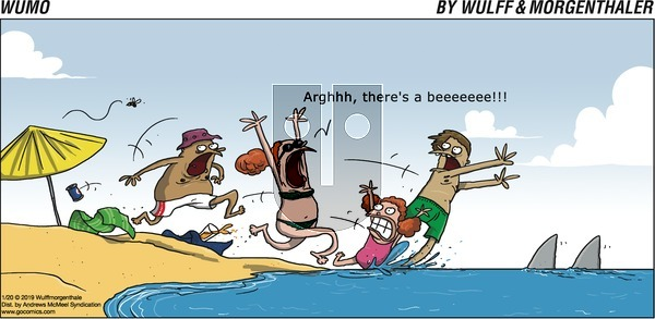 WuMo on Sunday January 20, 2019 Comic Strip