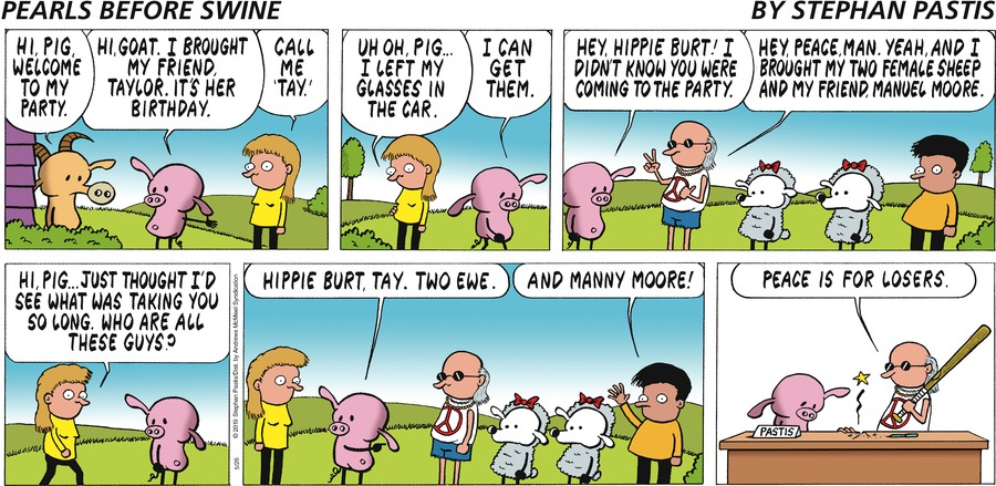 Pearls Before Swine Comic Strip for May 26, 2019