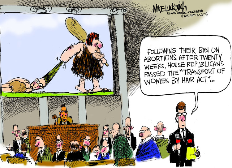 Mike Luckovich Comic Strip for June 20, 2013