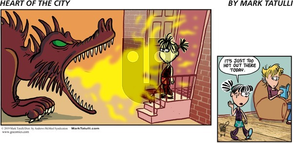Heart of the City - Sunday August 4, 2019 Comic Strip