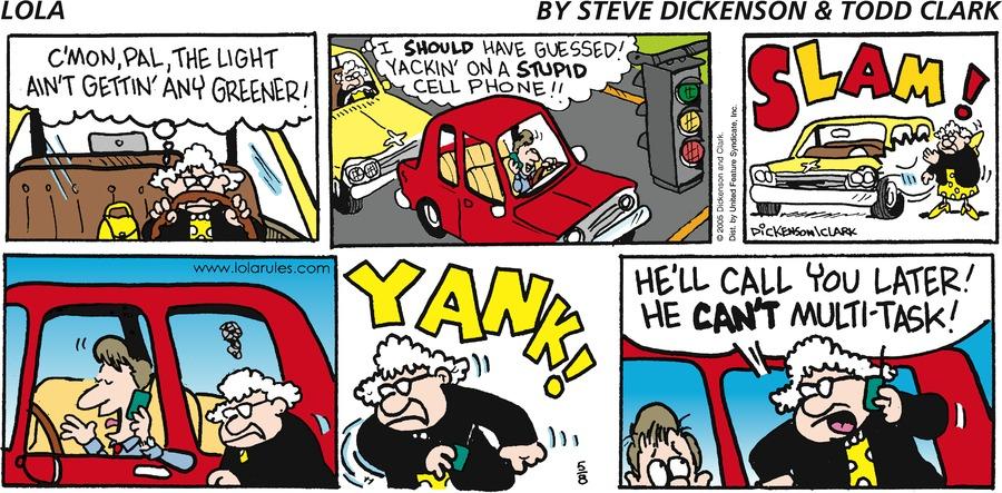 Lola for May 8, 2005 Comic Strip