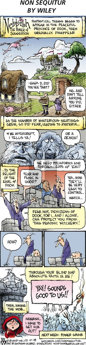 Non Sequitur - Sunday October 28, 2018 Comic Strip