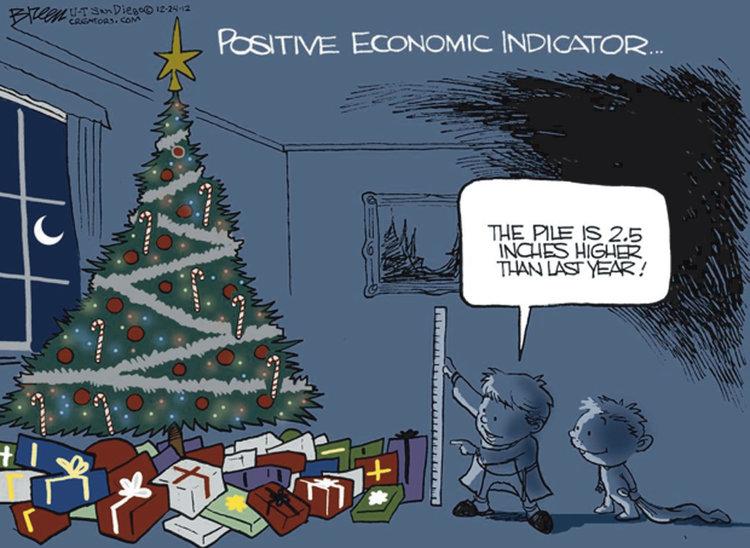 Steve Breen for Dec 24, 2012 Comic Strip