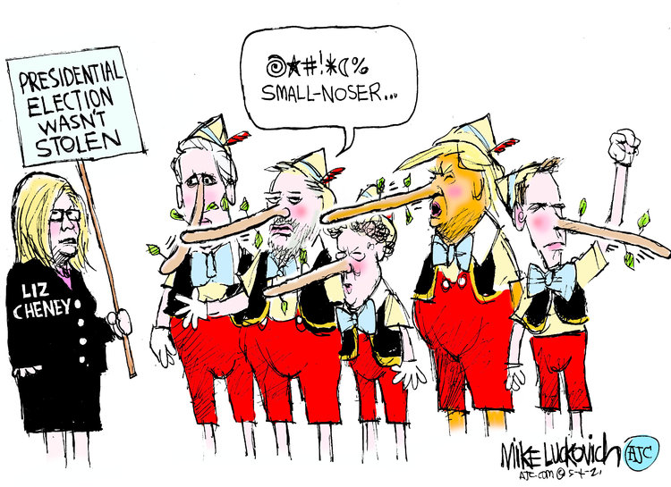 Mike Luckovich Comic Strip for May 04, 2021