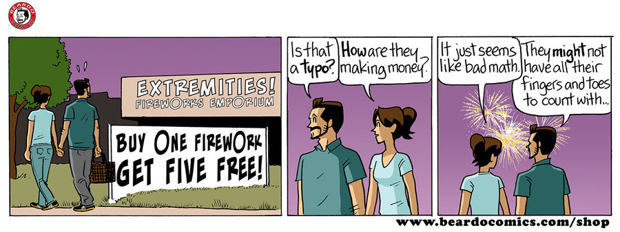 Beardo Comic Strip for July 04, 2019