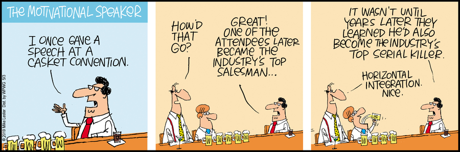 Mike du Jour Comic Strip for May 03, 2019