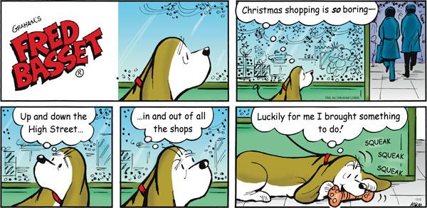 Fred Basset Comic Strip for December 05, 2010