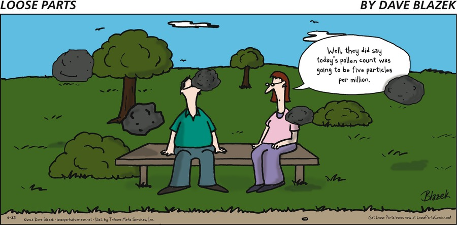 Loose Parts for Jun 23, 2013 Comic Strip