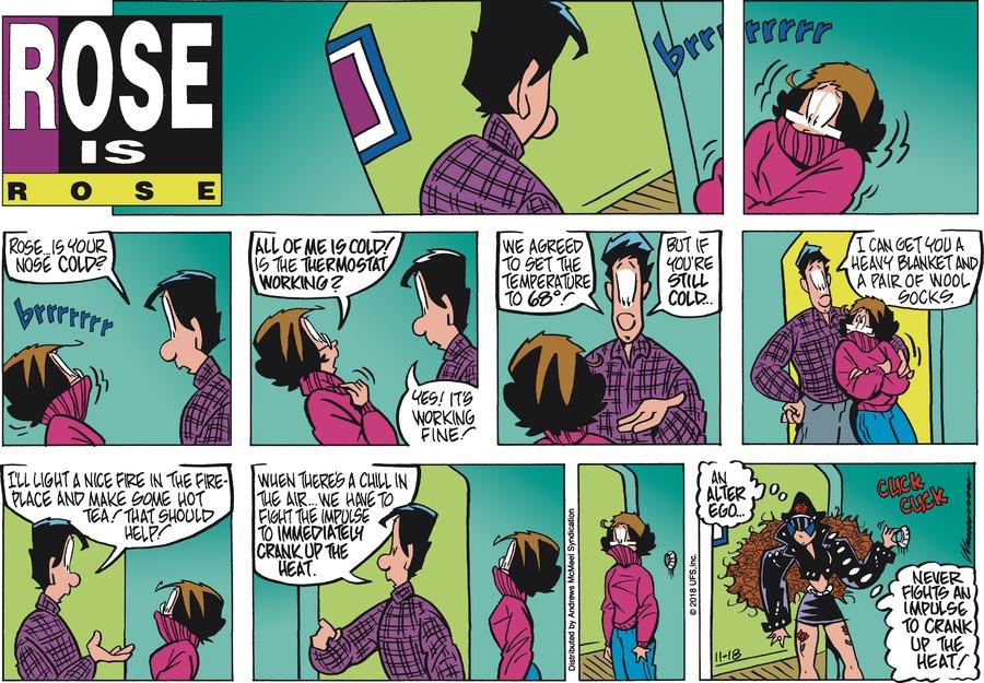 Rose is Rose Comic Strip for November 18, 2018