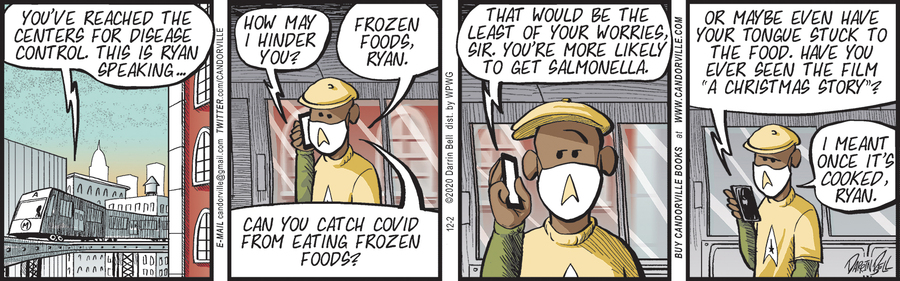 Candorville Comic Strip for December 02, 2020