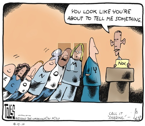 Tom Toles on Sunday August 15, 2010 Comic Strip