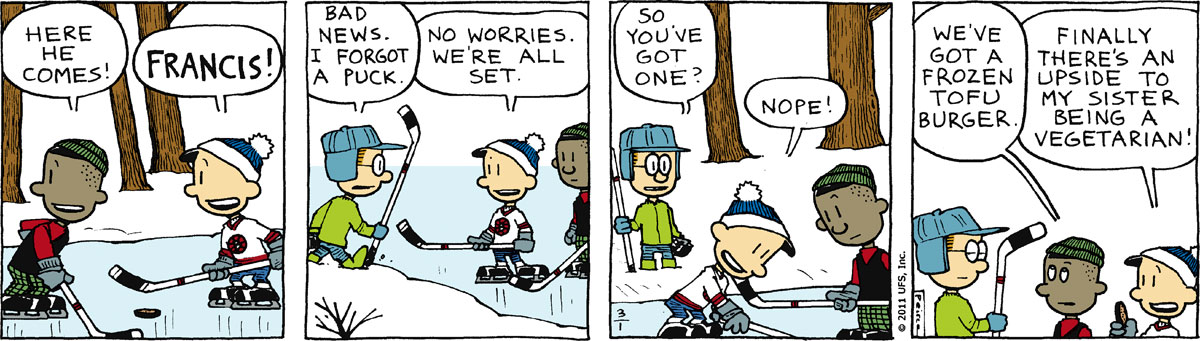 Big Nate Comic Strip for March 01, 2011