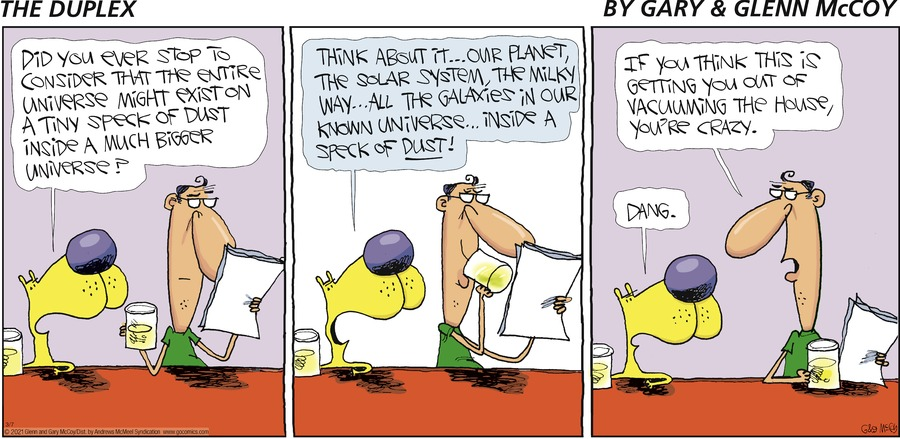 The Duplex Comic Strip for March 07, 2021