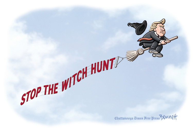Clay Bennett for May 19, 2017 Comic Strip