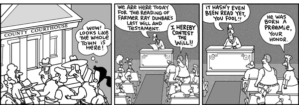 2 Cows and a Chicken Comic Strip for August 16, 2008