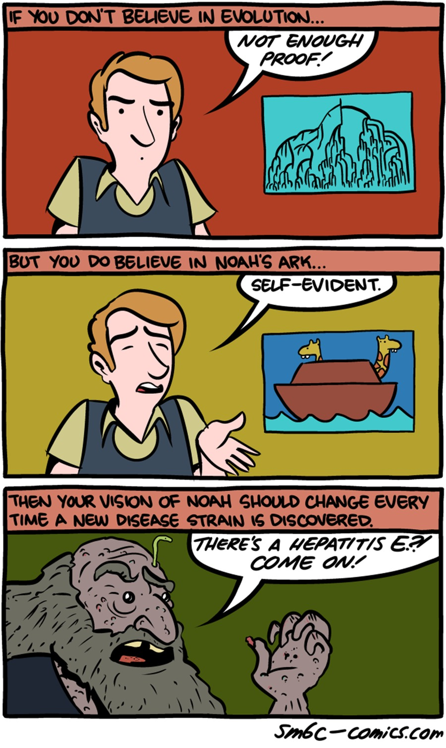 Saturday Morning Breakfast Cereal Comic Strip for December 13, 2015