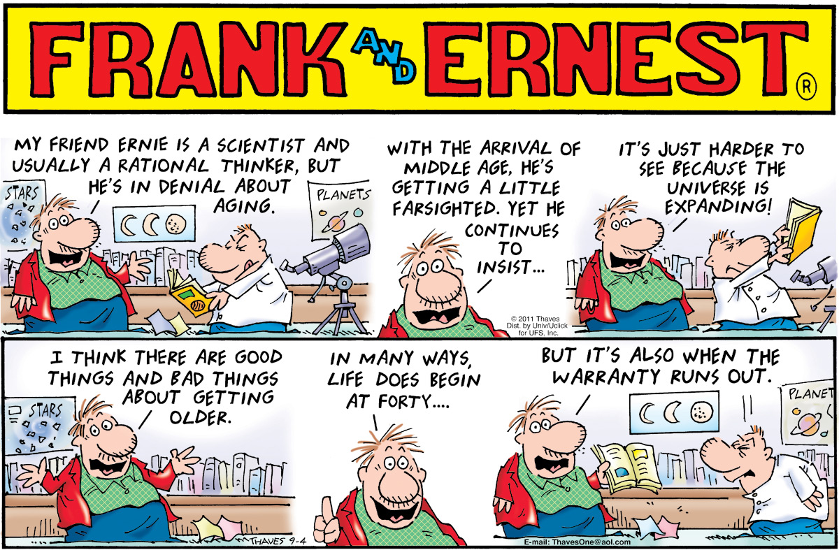 Frank and Ernest Comic Strip for September 04, 2011
