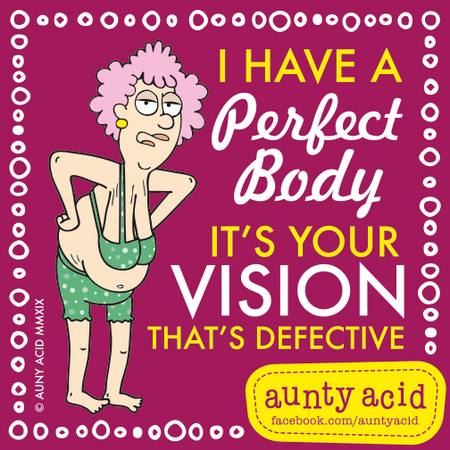 Aunty Acid Comic Strip for February 23, 2019