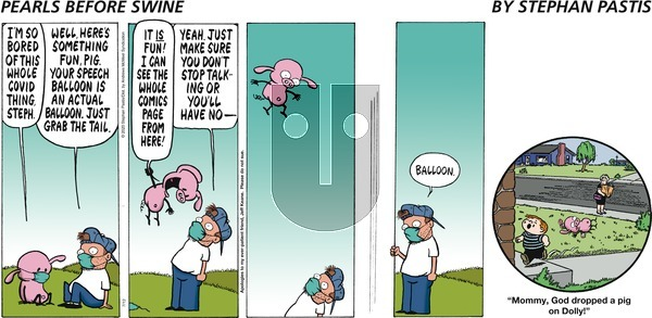 Pearls Before Swine on Sunday July 12, 2020 Comic Strip