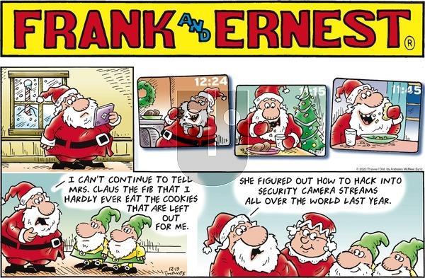 Frank and Ernest on Sunday December 13, 2020 Comic Strip