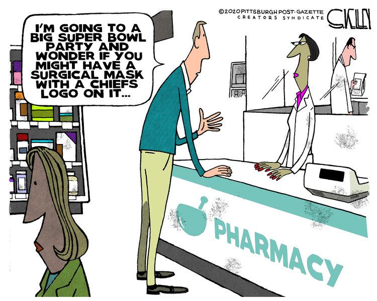 Steve Kelley Comic Strip for January 29, 2020