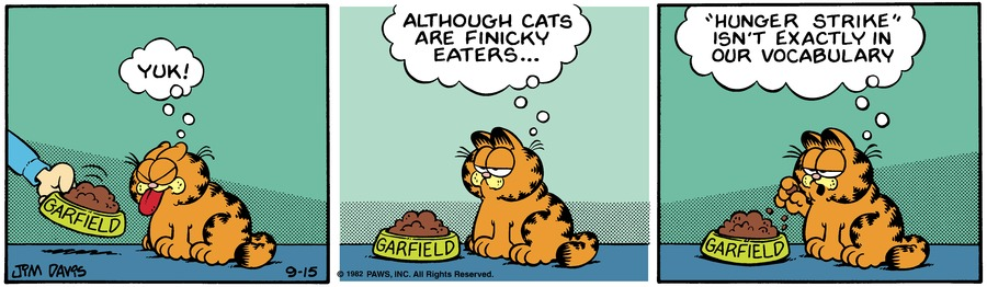 Garfield Classics Comic Strip for September 20, 2020
