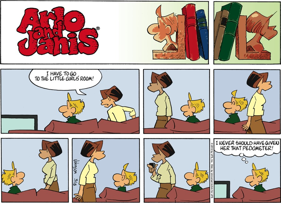 Arlo and Janis Comic Strip for March 18, 2012