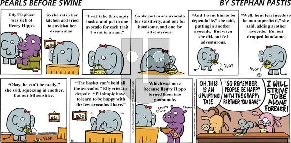 Pearls Before Swine on Sunday January 1, 2012 Comic Strip