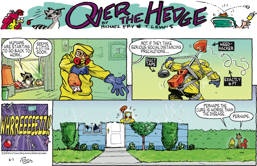 Over the Hedge Comic Strip for June 07, 2020