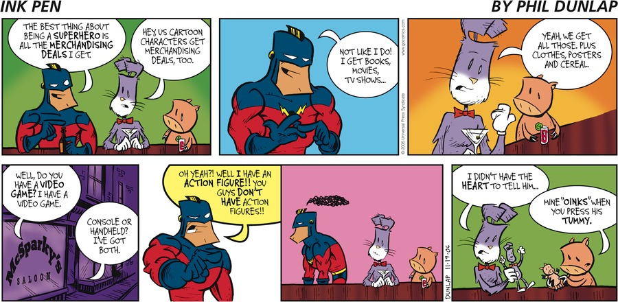Ink Pen Comic Strip for November 19, 2006