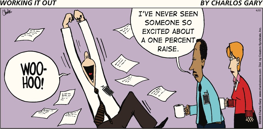 Working It Out Comic Strip for April 22, 2018