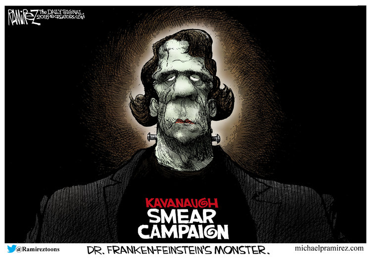 Michael Ramirez Comic Strip for September 29, 2018