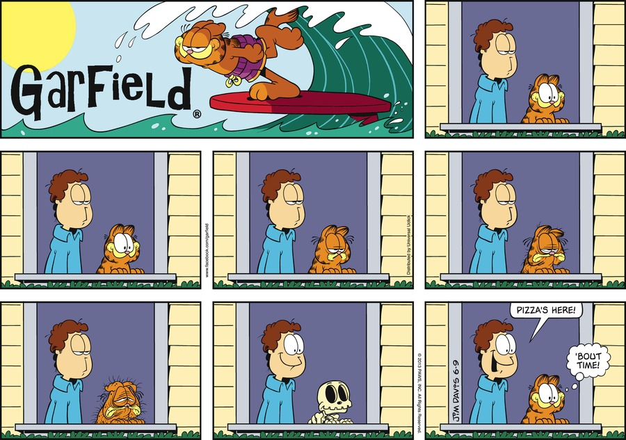 Jon:  Pizza's here!