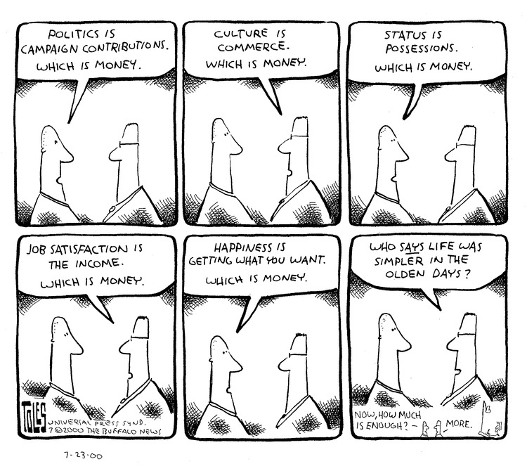 Tom Toles for Jul 23, 2000 Comic Strip